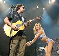 John Mayer and Sheryl Crow