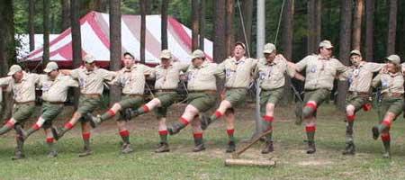 Wood Badge Rockettes