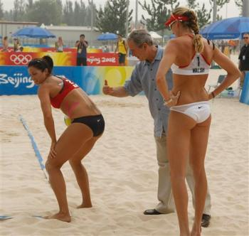 Are Kerri walsh beach volleyball butts