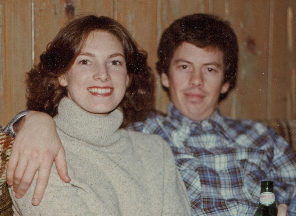 Barb and Steve 8march1981