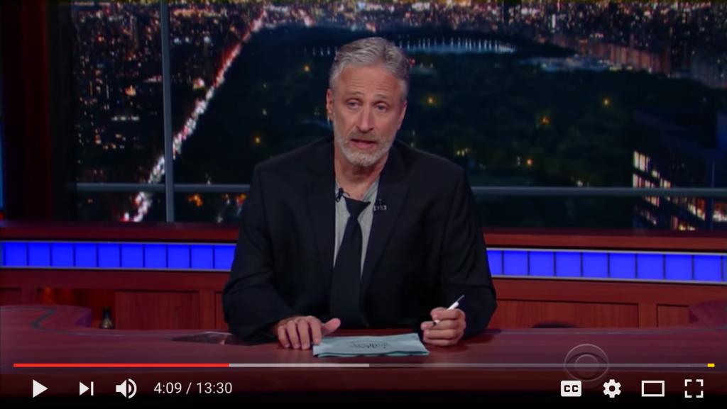 Jon Stewart on Trump, RNC